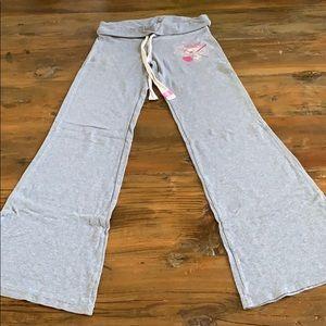 Pink Victoria Secret pajama bottoms
